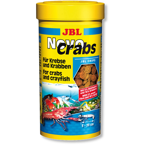 Novo CRABS  250 ml/125 g - (Mangime per crostacei a chele)