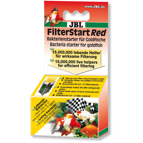 FilterStart Red 10 ml - (At tivatore batterico Pesci rossi)